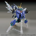 Preview: 4 Gunpla in One. RERISING GUNDAM (HGBD:R and SDBD:R) images, info