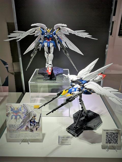 Mg 1 100 Wing Gundam Zero Ew Ver Ka On Display Gundam Base Tokyo Gunjap