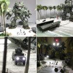 1/144 Diorama: Raid at Dawn. Images, full info