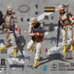 G.M.G.Mobile Suit Gundam Earth Federation Army General Soldier Set Box