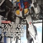 Review 1/144 RX-78F00 Gundam and G-Dock
