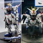 1/100 Freedom Gundam Ver.SH and SD Gundam EX Standard Freedom Gundam Ver.SH exhibited in China