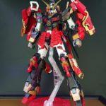 MG Musha Unicorn Gundam custom: photo review, info
