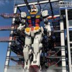 VIDEOS: Yokohama's moving full-scale Gundam released to the press