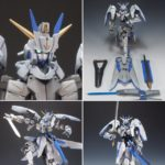 (Mixing Build) 1/144 Sol Bianca Valkyria Frame: photo review, full info
