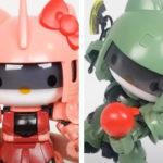 SDCS Hello Kitty / Zaku II, Hello Kitty / Char Exclusive Zaku II Review