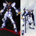 HG/MG Nu Gundam anime style