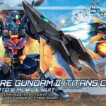 HGBD: R 1/144 Core Gundam II (Titans color) box art, images