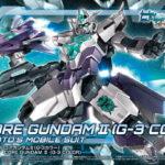 HGBD: R 1/144 Core Gundam II (G-3 color) box art, images