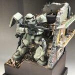 "MG Gunpla Diorama: ""Interceptor"""