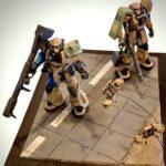 1/144 Gunpla Diorama: Scout team