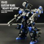 HGUC Gustav Karl Heavy Weapon custom