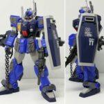 Ground battle type Gundam test custom
