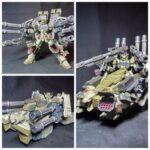 MG Heavyarms Hephaistos and Behemoth custom