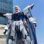 Full-scale Freedom Gundam Opening ceremony