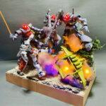 1/144 Gunpla Diorama: images