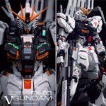 The 51 company MG Nu Gundam Garage Kit