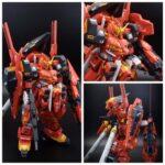 Custom build HGUC Gundam TR-1 Haze'n-thley type Eva 02