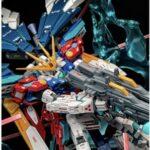 Mixing build HG Wing Gundam RX-zero
