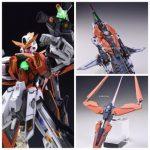 MG Gundam Kyrios resin parts conversion
