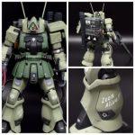 HGUC Zaku II Sniper Custom Build