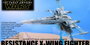 KOMA-P's Bandai 1/72 RESISTANCE X-WING FIGHTER: Big Size Images, source