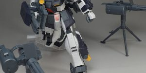 REVIEW P-Bandai ACE PILOT LOG Series MG 1/00 GM DOMINANCE Philip Hughs custom