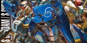 NEW IMAGES MG 1/100 Ex-S Gundam / S Gundam