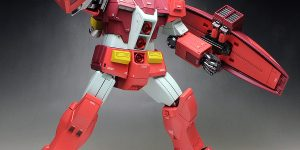 WORK REVIEW: P-Bandai HGBF 1/144 PSYCHO GM MIKIO MASHITA'S MOBILE ARMOR painted build Images