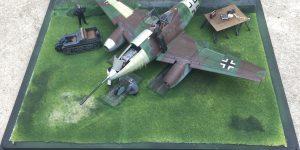 gunjap Diorama 1/48 Me 262 A-1a/U4