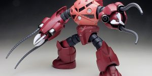 [WORK REVIEW] P-Bandai HGBF 1/144 AMAZING Z'GOK painted build, images