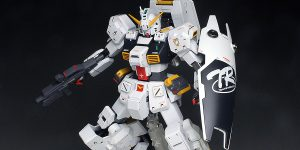 [WORK REVIEW] P-Bandai MG 1/100 GUNDAM TR-1 HAZEL CUSTOM painted build