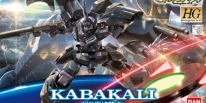 HG 1/144 KABAKALI: UPDATE Many Big Size Official Images, Info Release