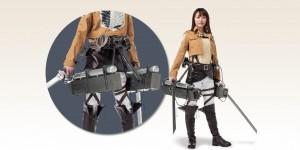 Attack on Titan 3-D maneuver gear: On Sale. Official Images, Info, LINK