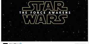 STAR WARS: EPISODE VII Officially Titled STAR WARS: THE FORCE AWAKENS
