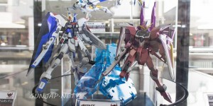 ACT.COMBINATION (Clear Blue) ROBOT魂 Freedom Gundam, Justice Gundam on Display: PHOTOREPORT No.22 Hi Res Images!