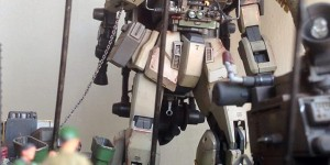 """[GBWC2015] 1/100 Gunpla Diorama """"Ready To Attack"""" Modeled by Van Des: REVIEW, Info"""