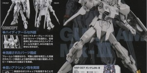 RE/100 1/100 Gundam Mk-III UPDATE Latest Official Images, Scans, Info Release
