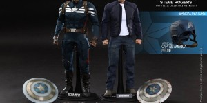[Captain America The Winter Soldier] 1/6 Captain America Stealth S.T.R.I.K.E. Suit & Steve Rogers. One of the Hot Toys Best Collectibles Ever! Full Official Photoreview No.26 Big or Wallpaper Size Images, Info from the Manufacturer