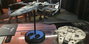 Star Wars The Force Awakens: Props Resistance X-Wing Fighter, Millennium Falcon. New Hi Res Images