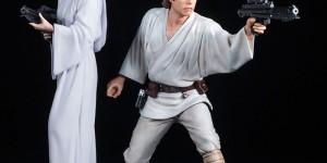 [STAR WARS] ARTFX+ 1/10 Luke Skywalker & Leia (pre-painted figures) Official Photoreview No.21 Big Size Images, Release Info