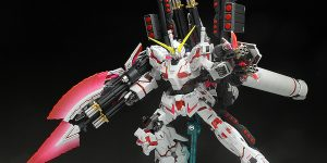 [WORK] Tai's HGUC 1/144 RX-0 FULL ARMOR UNICORN GUNDAM [DESTROY MODE / RED COLOR VER.] Big Size Images