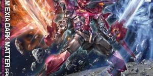 MG 1/100 Gundam Exia Dark Matter PPGN-001: UPDATE Box Art, Hi Res Official Images, Info Release
