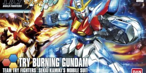 HGBF 1/144 TRY BURNING GUNDAM: the Ultimate (Many) Official Images are HERE, Info Release