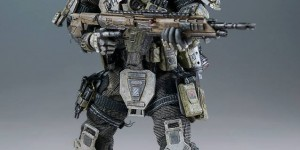 TITANFALL: Atlas. First Threezero Official Review of the Pilot. No.9 Big Size Images, Full Info