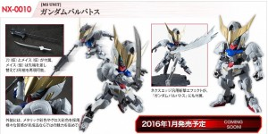 NXEDGE STYLE [MS Unit] Gundam Barbatos: ADDED NEW Official Images, Info Release