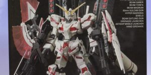 HGUC 1/144 RX-0 FULL ARMOR UNICORN GUNDAM [Destroy Mode] RED COLOR Ver. : BOX OPEN REVIEW Big Size Images