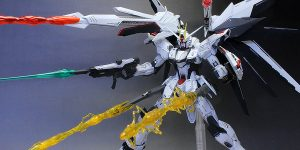 TAI's Custom Paint MG 1/100 FREEDOM GUNDAM Ver.2.0 Full Set: Big Size Images