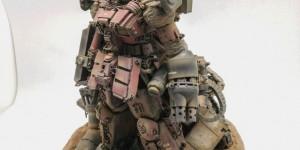 ガンプラ王2014 Diorama MG Guncannon Custom: Amazing Paint Job! Photoreview, Info
