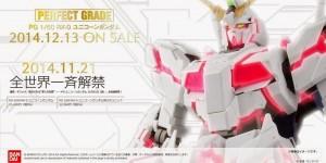 PG 1/60 RX-0 Unicorn Gundam and P-Bandai Full Armor Set: UPDATE Images till now, Info